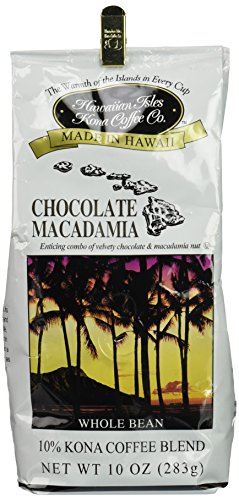 Chocolate Macadamia Nut 10 oz Whole Bean Coffee