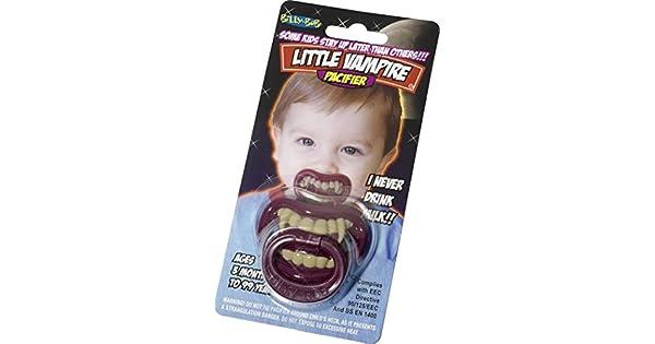 Amazon.com: Little infantil/infantil de vampiro Chupete ...