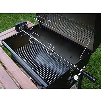 Amazon Com Char Griller 5022 Deluxe Rotisserie Kit For