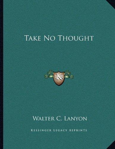 Take No Thought ebook