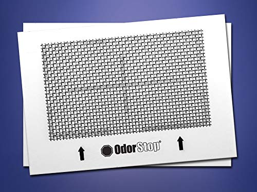 OdorStop Ceramic Ozone Plates for All Ozone Generators (2-Pack)