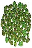NATURAL DESIGNER GREEN COPPER TURQUOISE MIX CABOCHON LOOSE GEMSTONE AFRICA 1000Cts LOT
