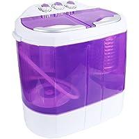 Display4top Portable Charge supérieure 4.2kg machine à laver - machines à laver - Prise standard européenne (Violet)