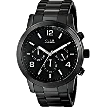GUESS Men's U15061G1 Analog Display Quartz Black Watch