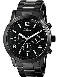 GUESS Men's U15061G1 Analog Display Quartz Black Watch