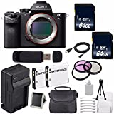 Sony Alpha a7S II a7S Mark II a7SII ILCE7SM2/B Mirrorless Digital Camera (International Model) + 62mm Filter Kit