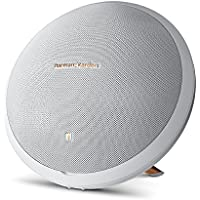 Harman Kardon Onyx Studio 2 Wireless Speaker System with Rechargeable Battery and Built-in Microphone White