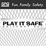 Play It Safe Driveway Net, Orange – Removable