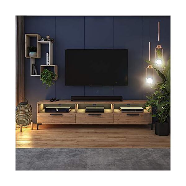 Selsey Meuble TV, avec LED
