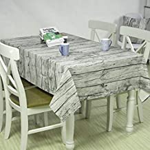 Household Wood Grain Tablecloths/Picnic Blanket/Table-Cloth/Living Room Dining Room Table Cloth/Outdoor Coffee Table Cloth Is Easter, Christmas Or Festival Events Home Dining Table Cloth (L 140 x 180cm/55.16 x 70.92inch)