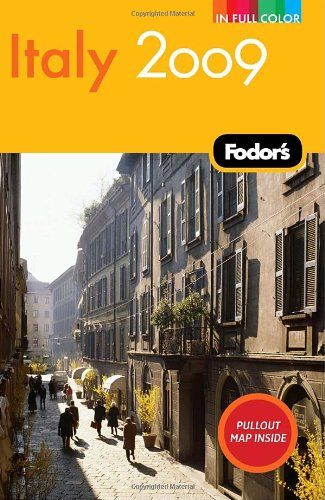 Fodor's Italy 2009 (Full-Color Gold Guides)