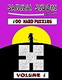 Samurai Sudoku Hard Volume 1: 100 Hard Samurai Sudoku Puzzles