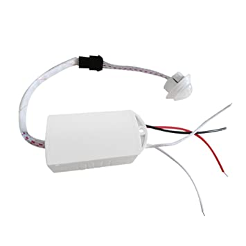 Interruptor de sensor de movimiento con módulo infrarrojo infrarrojo y luz inteligente