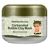 Clay Face Mask Silvercell Clay Mask Carbonated Moist Deep Pore Cleansing Face Mask (A1)