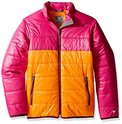 - White Sierra Girls Zephyr Insulated Jacket, Orange Pepper, Small