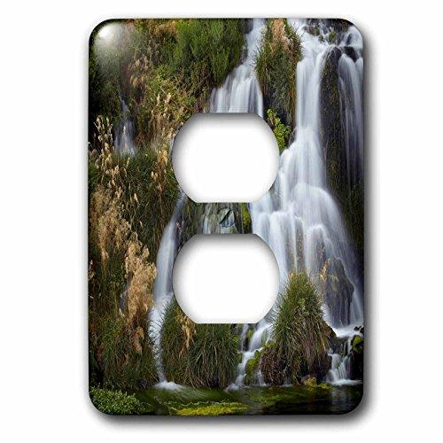3dRose Danita Delimont - Waterfalls - Waterfalls at Niagara Springs, Idaho, USA - Light Switch Covers - 2 plug outlet cover - Niagara At Falls Outlets