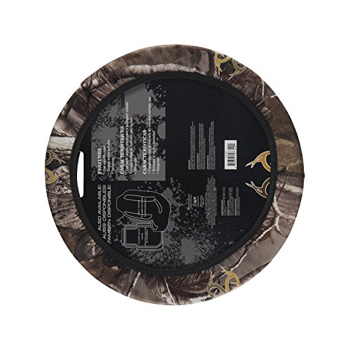 Realtree Neoprene Steering Wheel Cover (Realtree AP Camouflage, Sold Individually)