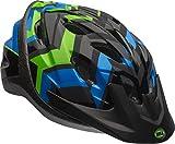 Bell Axle Youth Bike Helmet, Black/Force/Krypto Shifter