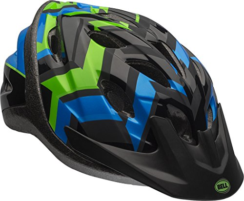 Bell Axle Youth Bike Helmet, Black/Force/Krypto Shifter ()