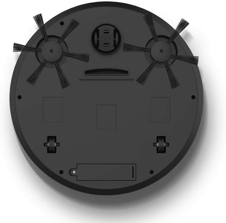 BYBYC Robot de Balayage Intelligent, aspirateur sans Fil de Robot Automatique 3 en 1, Balayage de Charge USB, Robot ménager Intelligent, aspirateur Paresseux, Blanc Blanc