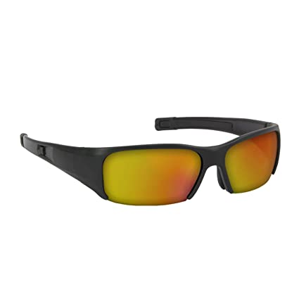 cc468999055 Bangerz Sports Eye Protection Baseball Softball Protective Sunglasses Black  Orange HS-8400