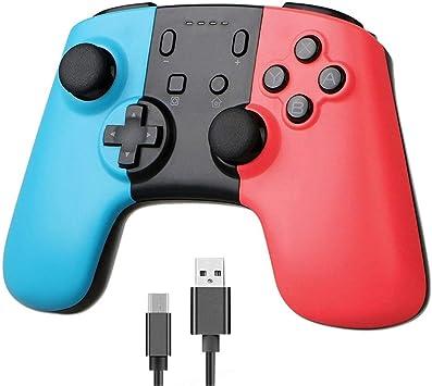 BISOZER - Mando inalámbrico para Nintendo Switch Gamepad con ...