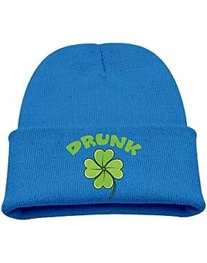 Drunk Unisex Baby Boys Soft Knit Beanie Skull Cap