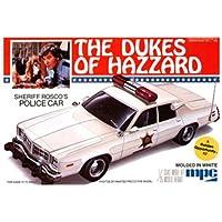 1/25 Kit de construcción del modelo de automóvil policial Dodge Monaco de Roscoe