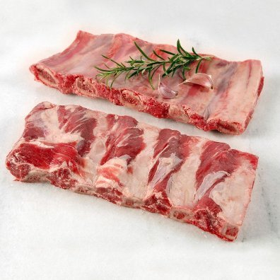 Kosher Ribs - Glatt Kosher Beef Back Ribs - 3lb Pack