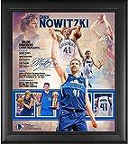 "Dirk Nowitzki Dallas Mavericks Framed 15"" x"