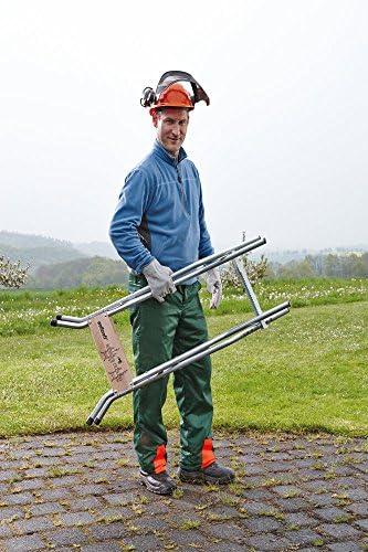 Wolfcraft 5119000 SB 60 Easy Cut Log Saw Horse For Chainsaws, Foldable