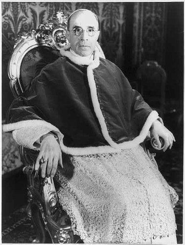 Photo: Pope Pius XII,1876-1958,Eugenio M G Giovanni Pacelli