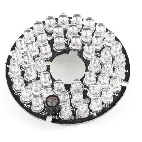 DealMux 48 LEDs 90 graus iluminador IR Infrared Board para câmera CCTV CCD Segurança