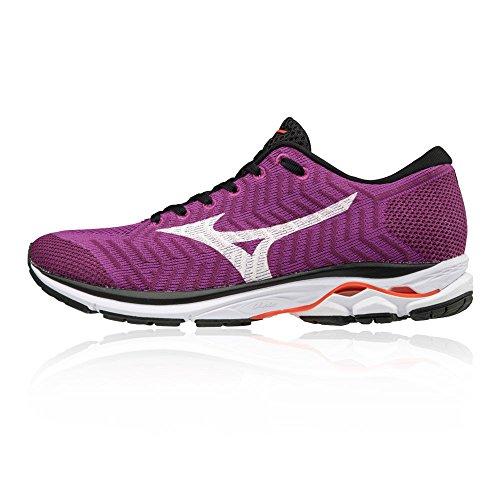 R1 Mizuno Violet Running Femme Waveknit Chaussures Wos Purple de BqRq5r