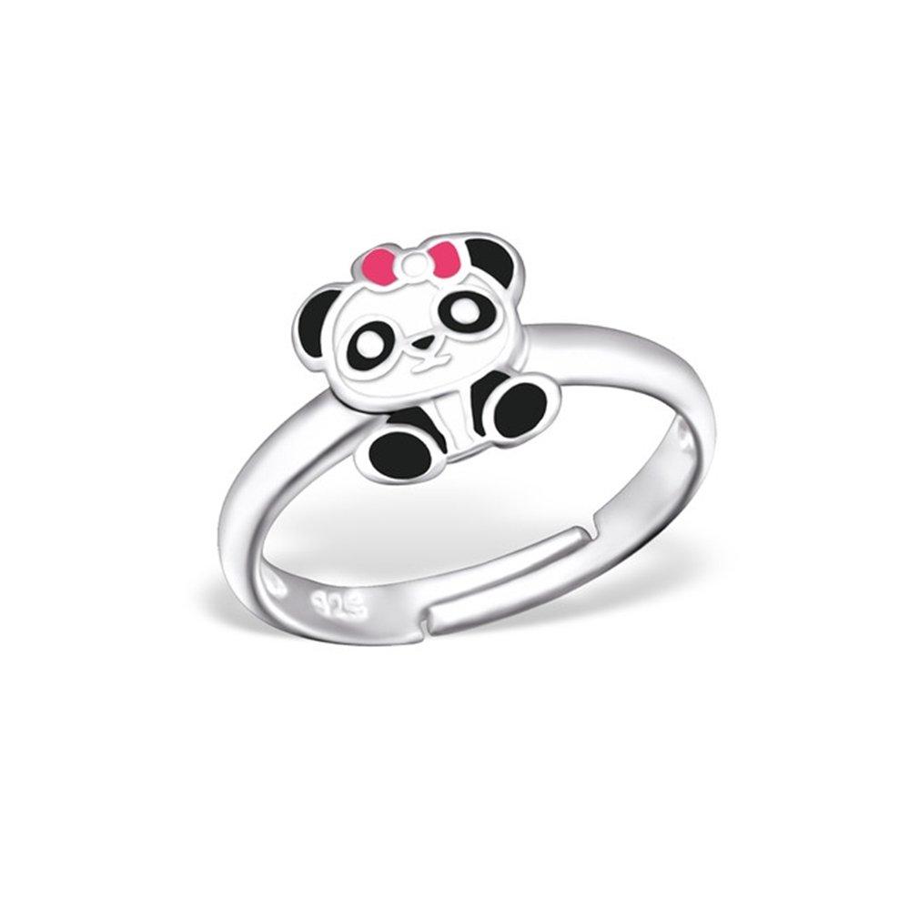 Liara Bague panda pour enfants en argent 925 Poli et sans nickel 100-28183-0