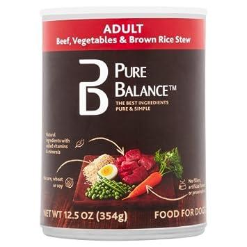 pure balance canned dog food