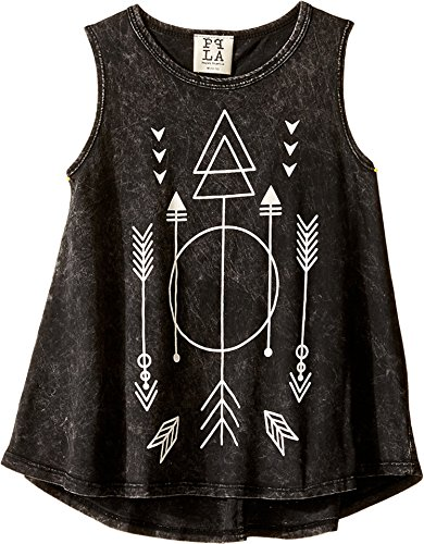 peoples-project-la-kids-girls-arrow-triangle-tank-top-big-kids-black-wash-tank-top