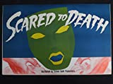 SCARED TO DEATH 1947 BELA LUGOSI'S ONLY COLOR FILM HORROR PRESSBOOK NEAR MINT!!