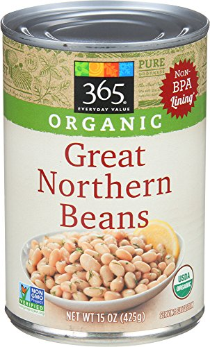 (365 Everyday Value, Organic Great Northern Beans, 15 oz)
