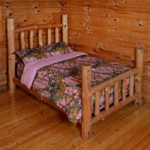 - THE WOODS Premium Microfiber CAMO Comforter (Pink, Twin)