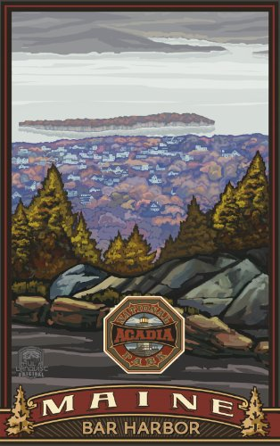 Northwest Art Mall Acadia National Park Bar Harbor Maine Wall Art by Paul A Lanquist, 11 by - Mall Harbor National