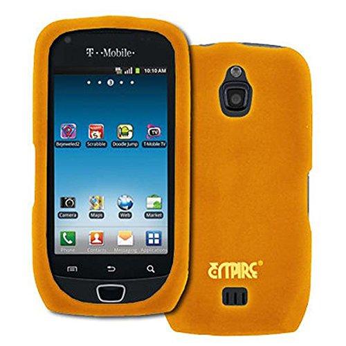 EMPIRE Orange Silicone Skin Case Étui Coque Cover Couverture for T-Mobile Samsung Exhibit 4G