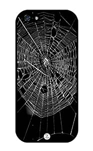 iZERCASE Spider Web Pattern RUBBER iPhone 5 case - Fits iPhone 5, iPhone 5S T-Mobile, AT&T, Sprint, Verizon and International