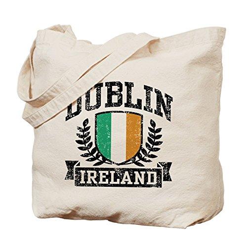 CafePress–Dublín Irlanda Tote Bag–Natural gamuza de bolsa de lona bolsa, bolsa de la compra