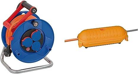 Brennenstuhl Garant Ip44 Kabeltrommel 25m Kabel In Orange Spezialkunststoff Einsatz Im Außenbereich Made In Germany Safe Box Big Ip44 Schutzkapsel Für Kabel Im Außenbereich Baumarkt