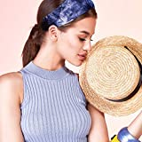 8 Pieces Tie Dye Headbands Tie Cotton Stretchable