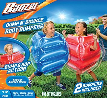 Bump n Bounce Body Bumpers - 2 bumpers included by Banzai