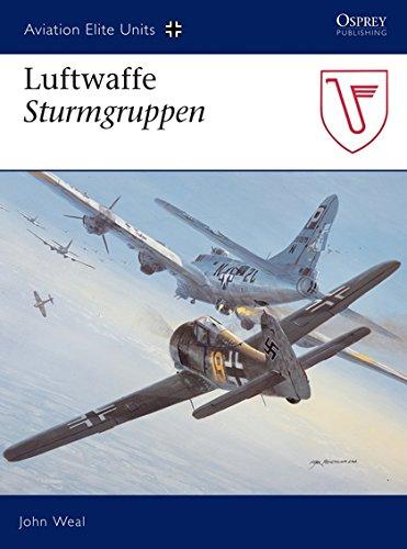 - Luftwaffe Sturmgruppen (Aviation Elite Units)