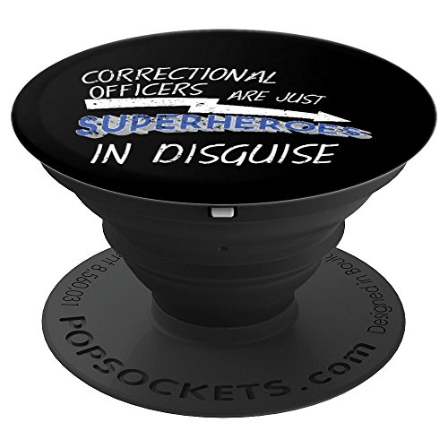 Correctional Officers Are Just Superheroes In Disguise - PopSockets Grip and Stand for Phones and Tablets - Disguise Stick
