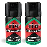 Farb Gel Mini'Criminal Identifier' Self Defence Multi Function Spray (2 Units)